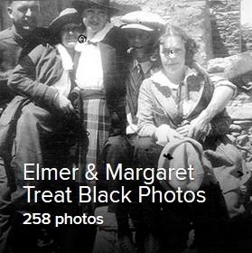 Elmer & Margaret Treat Black Photos