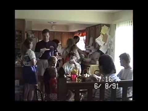 Phelps, Megs & Chuck Families, Food Talking June 1991 MI CS69