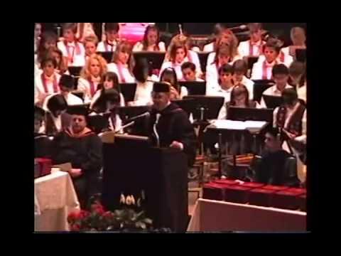 Carrie Troy Athens HS Choir & Graduation 1991 CS69