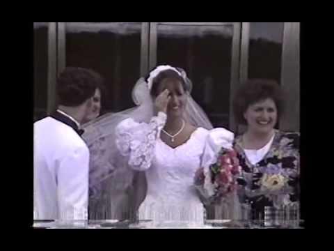 Carrie & Brian Wedding Toronto Temple no audio 1993 CS68