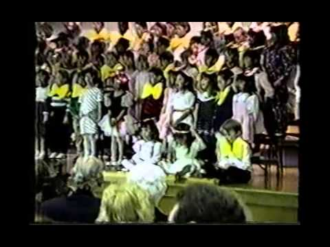 Adam Life Story for Baptism, includes tag football with Ben & Kimball 1993 MI CS89