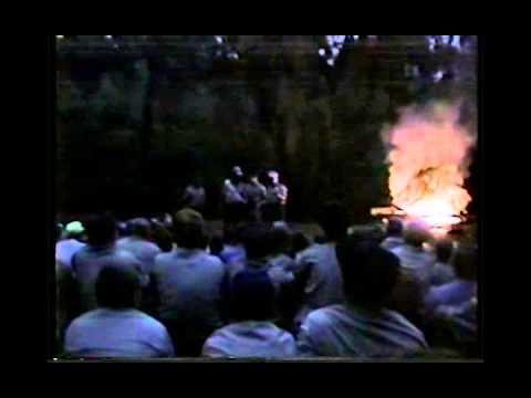Kimball, Ben & Chuck Scout Camp, Campwide Campfire, D A 1991 MI CS85