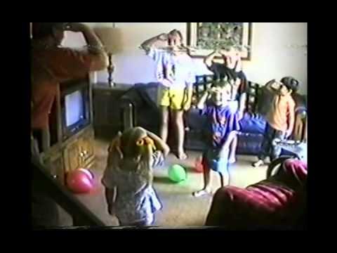 Amanda 4th Birthday & Biking, Chuck Family with Bethany & Christophersons 1994 MI CS87