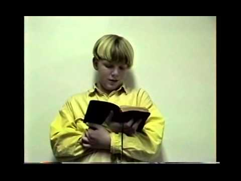 Ben & Boy Scout Church Skits MI CS61