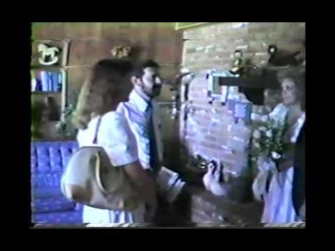 Chuck & Christopherson Families, Chuck & Jana Wedding Reception 1989 AZ CS93