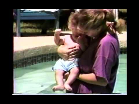 Ryan 3 Weeks Old, Older with Swimming & Christophersons Great Grandma McDowell CS97