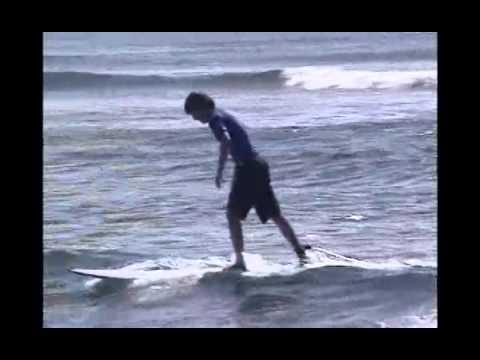 Alec, Amanda, Ryan Surfing Maui HI CS14
