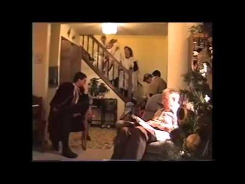 Megs & Chuck Families, Pat & Cliff Christmas 1991 MI CS70