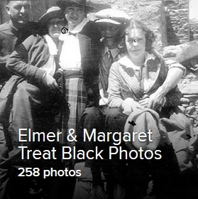Elmer & Margaret Treat Black Photos