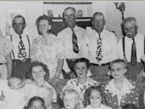 1885-1979 Spouses & Siblings of Margaret Glencarn Treat Black