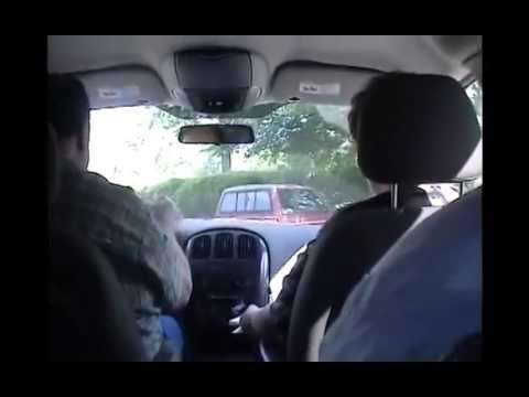 2004 Hughes Reunion   Cliff Car Tour of Neighborhood   Pat Tells Stories CS51