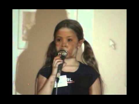 2004 Hughes Reunion Elizabeth Spooner Sings Star Spangled Banner CS47