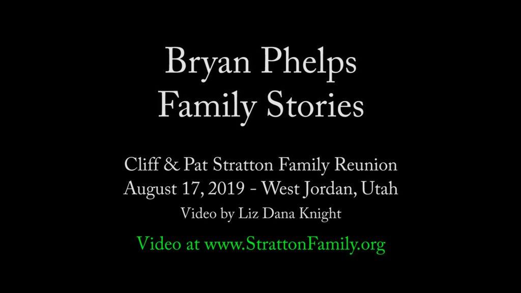 2019 Reunion Bryan Stories