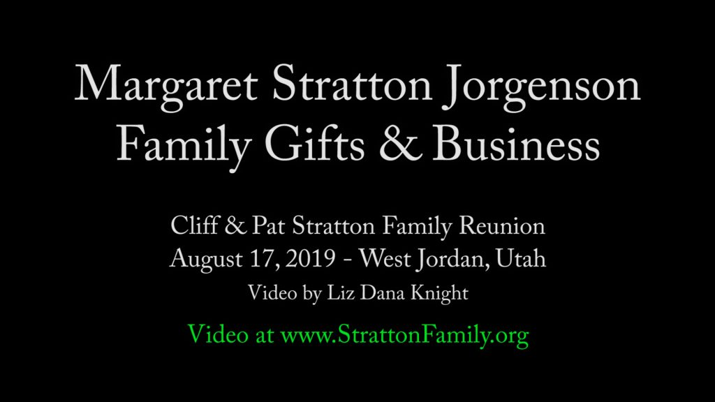2019 Reunion Margaret Family Gifts & Business